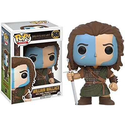 Funko POP Movies: Braveheart - William Wallace Action Figure: Funko Pop! Movies:: Toys & Games [5Bkhe1103500]