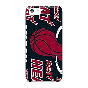 New Snap-on LHolme Skin Case Cover Compatible With Iphone 5c- Miami Heat
