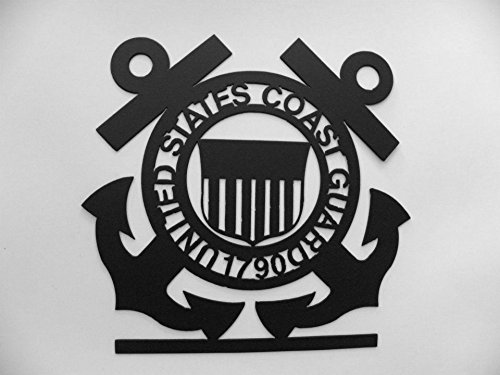 - US COAST GUARD Emblem Coast Guard Logo Metal Wall Art Decor