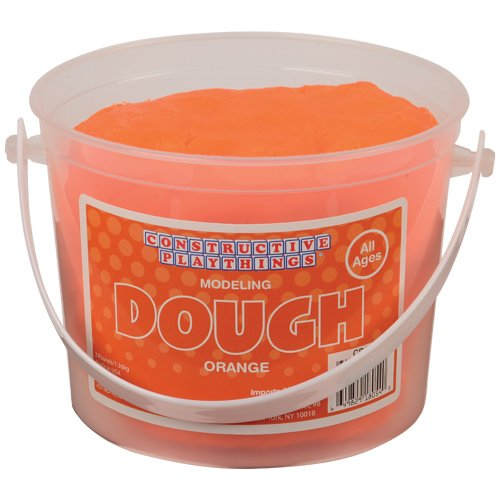 constructive-playthings-modeling-dough-3-lb-tub-of-orange-only