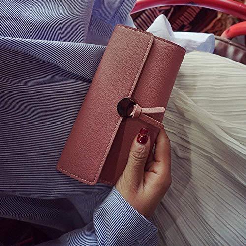 con quadrata moda a manico fashion joker con striscia Borsa Borsa Corea Identificazione tracolla tracolla tracolla Superficie lucchetto singola Giappone donna Borsa alla da morbida rosa a 1lFKJc