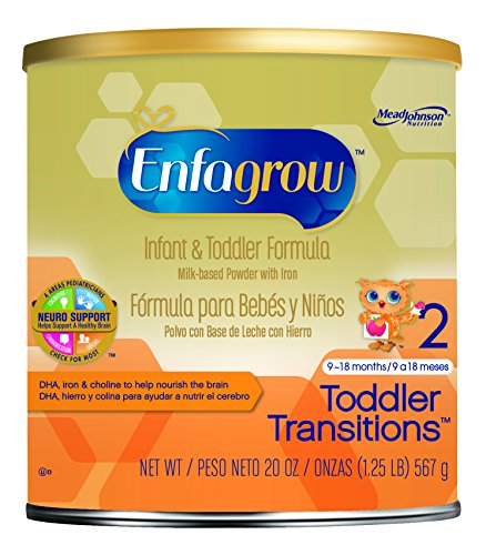 Enfagrow Transitions Powder for Toddlers, 20 Ounce
