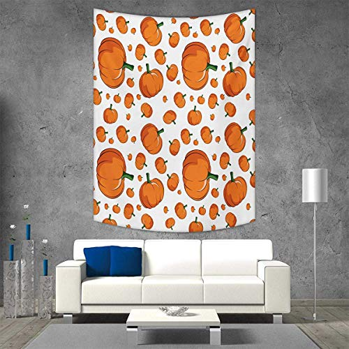 smallbeefly Harvest Wall Hanging Tapestries Halloween Inspired Pattern