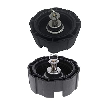 2 for Marine Outboard Engine 12L 24L Durable Gas Cap Fuel Oil Tank Cover