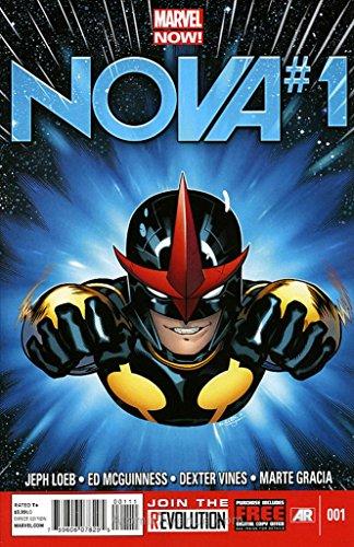 Nova (5th Series) #1 VF/NM ; Marvel comic - Nova Nm