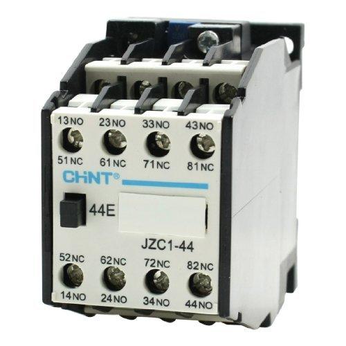 jzc1–44AC contattore tipo relè 220V/264V Coil 3Phase 3Pole 4No 4NC DealMux