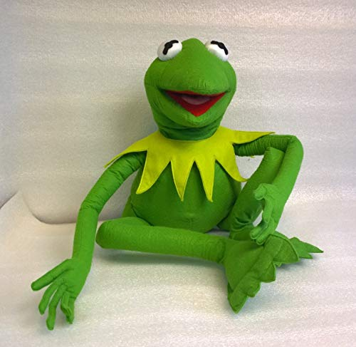 Frog Body Puppet - Skazkodrom Design Kermit The Frog Plush Puppet Made to Order from The Muppets Show Sesame Street 18 Inches