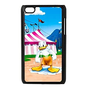 iPod Touch 4 Case Black Mickey Mouse Donald Duck Custom KHJSDFUJF2114