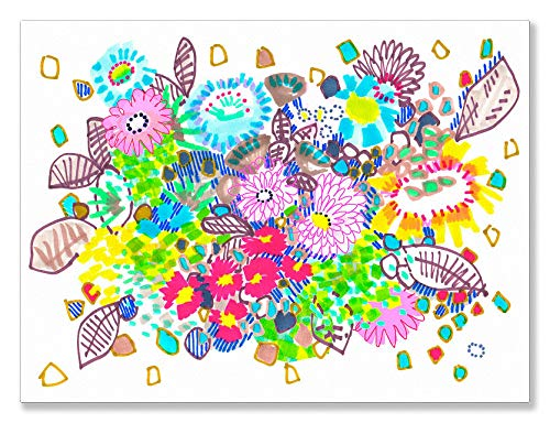 Oopsy Daisy Spring Has Sprung by Jo Chambers of Studio Legohead Canvas Wall Art, 24