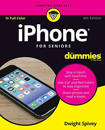 Price comparison product image iPhone For Seniors For Dummies (For Dummies (Computers))