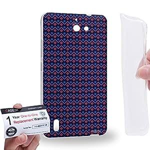 Case88 [Huawei Ascend G628] Gel TPU Carcasa/Funda & Tarjeta de garantía - Art Fashion Visual Effect Graphic E Art1823
