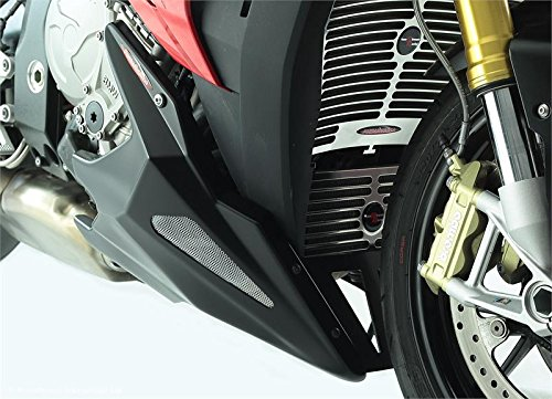 BMW S1000R 14 –  15/S1000 X R 15/carbono look-gold malla –  Belly Pan Powerbronze