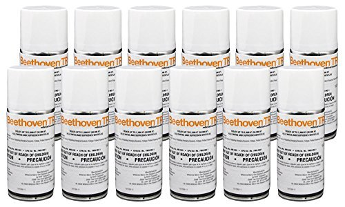Beethoven TR 2 oz (12 Count) Total Release Insecticide Miticide Aerosol Fogger Spider Mite Killer Bomb Whitefly Mites Pest Control by BASF (Tr Fogger)
