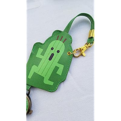 Taito Final Fantasy XV Bag Charm Watch - Cactuar: Toys & Games