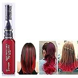 CHoppyWAVE Hair Color Pen,DIY Disposable Party Hair Color Pen Temporary Non-Toxic Dye Cream Beauty Tool Red