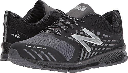 New Balance Men's Nitrel v1 FuelCore Trail Running Shoe, Black/Grey, 11 4E US