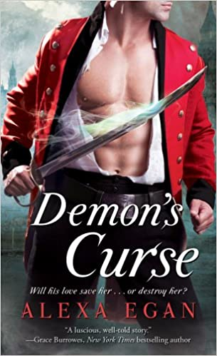Demons Curse Imnada Brotherhood Alexa Egan 9781451672909
