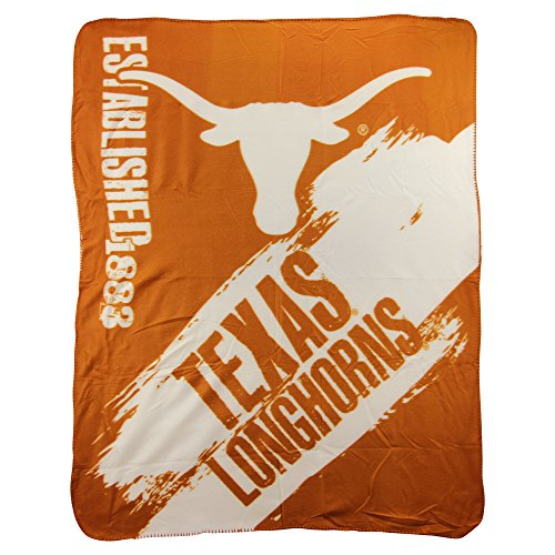 The Northwest Company NCAA Collegiate School Logo Fleece Blanket (Texas Longhorns)