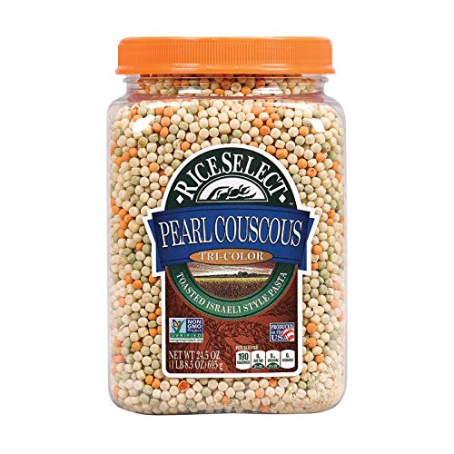 Riceselect Couscous Pearl Tri Color, 24.5 oz by RiceSelect