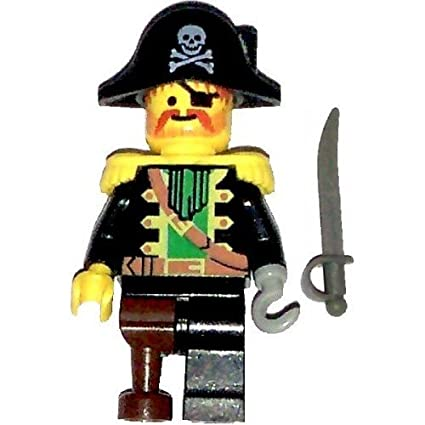 unique design where to buy new concept Amazon.com: LEGO Pirates Minifig Captain Red Beard with ...