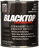 KBS Coatings 8401 Gloss Black BlackTop Chassis Paint - 1 Quart