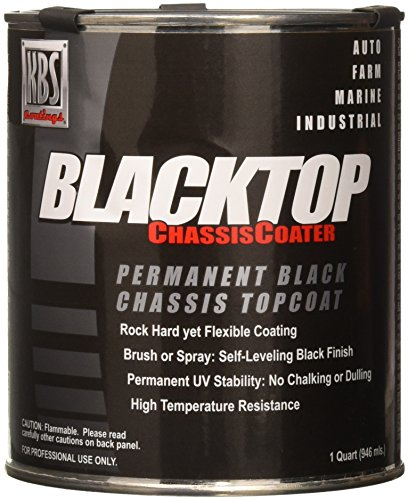 KBS Coatings 8401 Gloss Black BlackTop Chassis Paint – 1 Quart