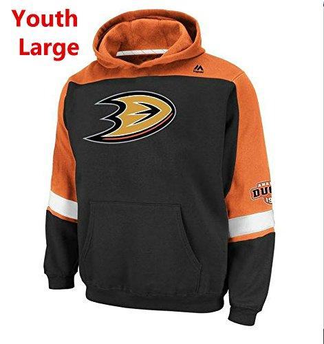 Hood Majestic Athletic (Majestic Anaheim Ducks Youth Size Large Hoodie Hooded NHL Lil Ice Classic Sweatshirt)