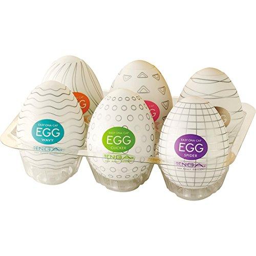 Huevos masturbadores de Tenga