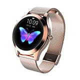 WSBAND Outdoor Sports Smart Bracelet 1.04 inch hd Large Screen Bracelet Physiological Period Blood Pressure Heart Rate Sleep Monitoring Fitness Tracker for Women,Brass