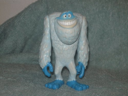 VINTAGE 2001- Monsters Inc. YETI FIGURE- 5 INCHES- DISNEY PIXAR