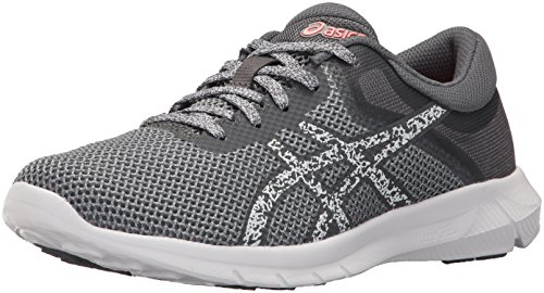cheap shop for ASICS Women's Nitrofuze 2 Running Shoe Carbon/White/Flash Coral outlet free shipping TDpGgt