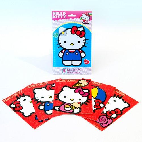 Hello Kitty Fathead Tradeables-5 - Fathead Kitty Hello