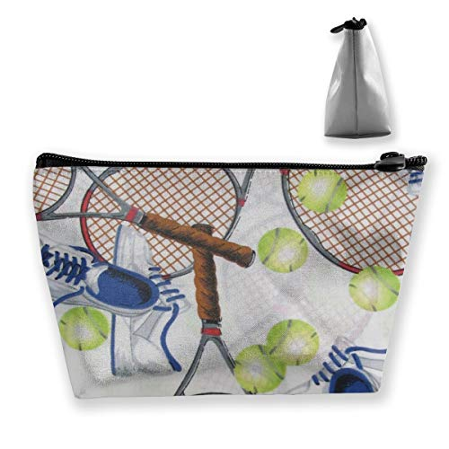 Amazon.com: Crazy Tennis Trapezoid Storage Bag Makeup Bag Pouch Bag Pencil Case Fashion Handbag: Home & Kitchen