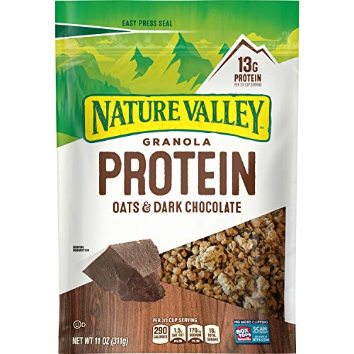 GMI NV GRN PRTN OT DKCH Nature Valley Oats n' Dark Chocolate Protein Crunchy Granola, 11 oz