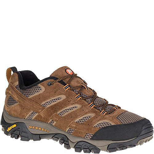 Merrell Men's Moab 2 Vent Hiking Shoe, Earth, 12 M US (Bar Outdoor Designs Top)
