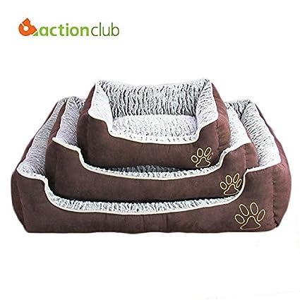 texay (TM) actionclub perro casa mascotas cama casa PP algodón mascota gran perro perros