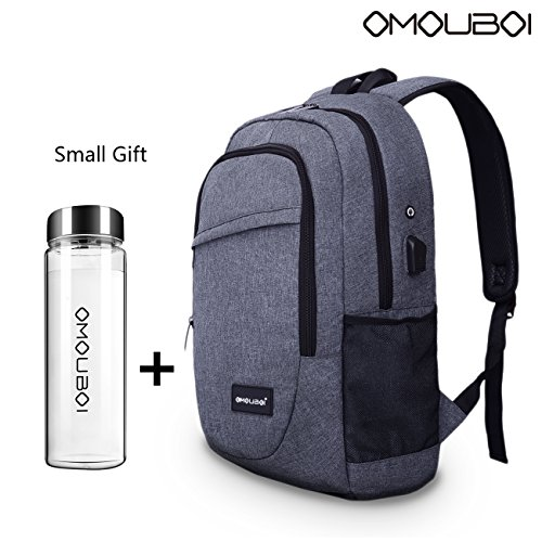 Laptop Backpack OMOUBOI Travel Computer Backpack Anti Theft Water Resistant ()