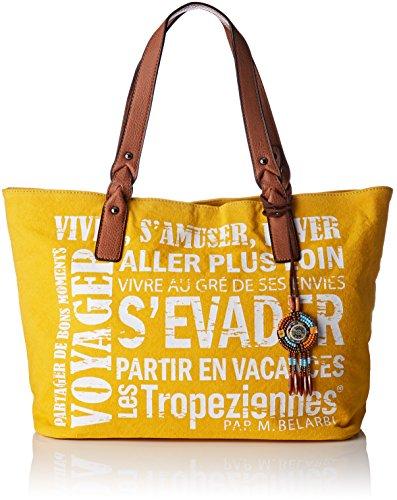 Jaune Tropéziennes Cabas Yellow par Belarbi M Les Her02 tz FZRU66qw