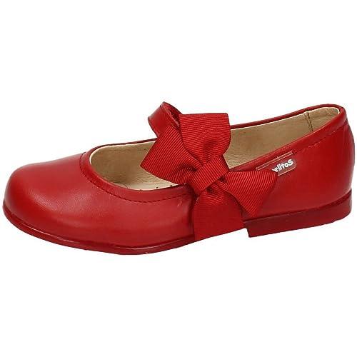 035c5b8c9 ANGELITOS 519 Mercedita DE Piel NIÑA Merceditas  Amazon.es  Zapatos y  complementos