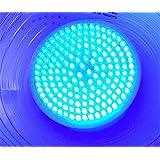 RubyLux All Blue Antibacterial LED Bulb Size Large 168-LED's