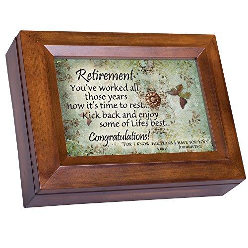 (Retirement Kick Back Enjoy Congratulations Woodgrain Digital Keepsake Music Box Plays My Wish)