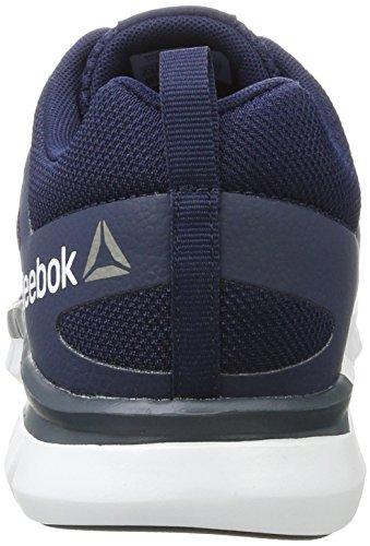 Bleu Course Cushion pewter Navy white Homme Sublite Reebok collegiate Chaussures De Xt 0 Mt 2 8EvZ1A