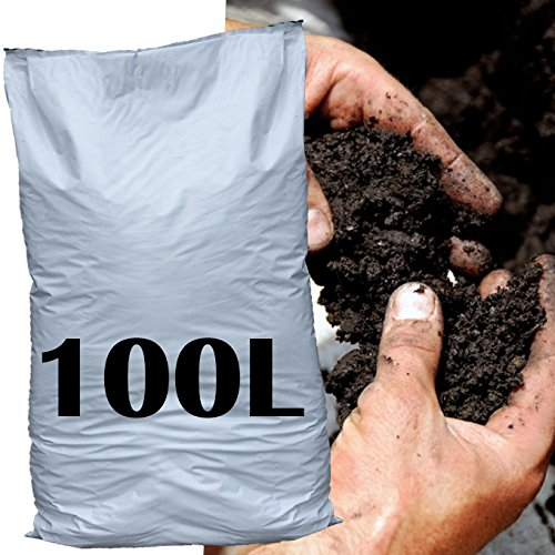 100L Organic Matter Soil Improver Conditioner Garden bed border grow feed plants Easy Plants