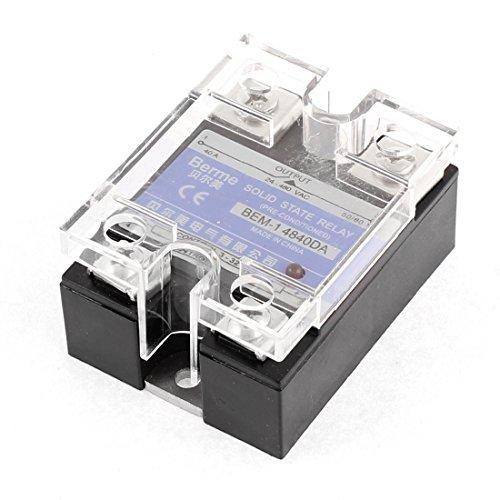 eDealMax a15113000ux2620 relé de estado sólido de Salida Bem-14840DA AC 24-480V 40A DC 3-32V de entrada monofásica
