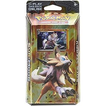 Pokemon TCG Card Game Sun and Moon Burning Shadows Theme Deck - Lycanroc