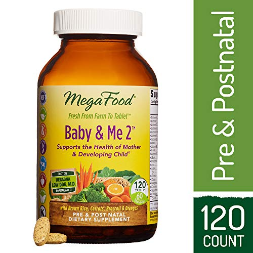 Megafood, Baby and Me 2, 120 Tablets