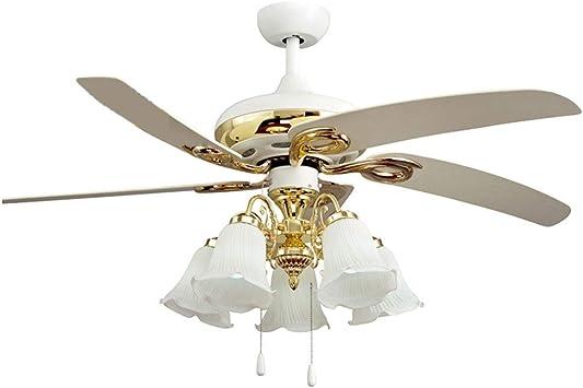 Ventiladores de techo con lámpara Ventilador De Techo Europeo ...