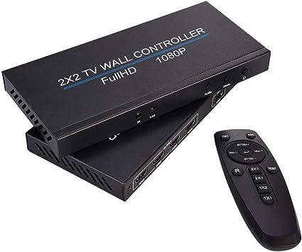 UMIWE HDMI Splitter Controlador de Pared de Video Interruptor de ...
