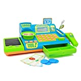 Boley Kids Toy Cash Register - Pretend Play Educational Toy Cash Register With Electronic Sounds, Play Money, Grocery Toy and More!