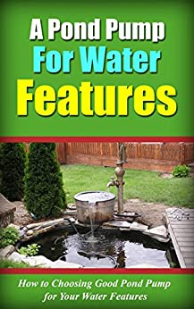 A Pond Pump For Water Features How To Choosing Good Pond